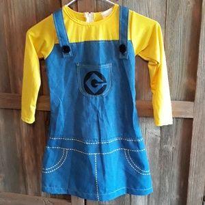 Other - Girls Minion Dress